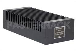 High Power 200 Watt RF Load Up to 3 GHz With N Female Input High Power Black Anodized Aluminum Heatsink(图2)