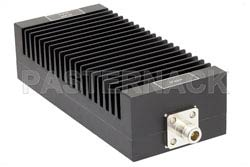 10 dB Fixed Attenuator, N Male To N Female Unidirectional Black Anodized Aluminum Heatsink Body Rated To 200 Watts Up To 3 GHz(图2)