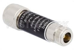 6 dB Fixed Attenuator, N Male to N Female Aluminum Body Rated to 5 Watts Up to 3 GHz(图2)