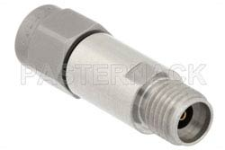 0 dB Fixed Attenuator, 2.92mm Male to 2.92mm Female Passivated Stainless Steel Body Rated to 2 Watts Up to 40 GHz(图2)